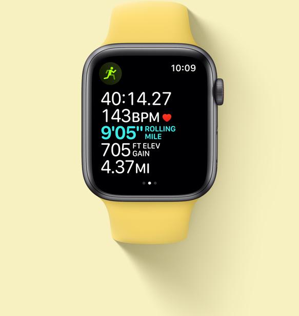 اندازه گیری ضربان قلب در ساعت هوشمند اپل واچ SE