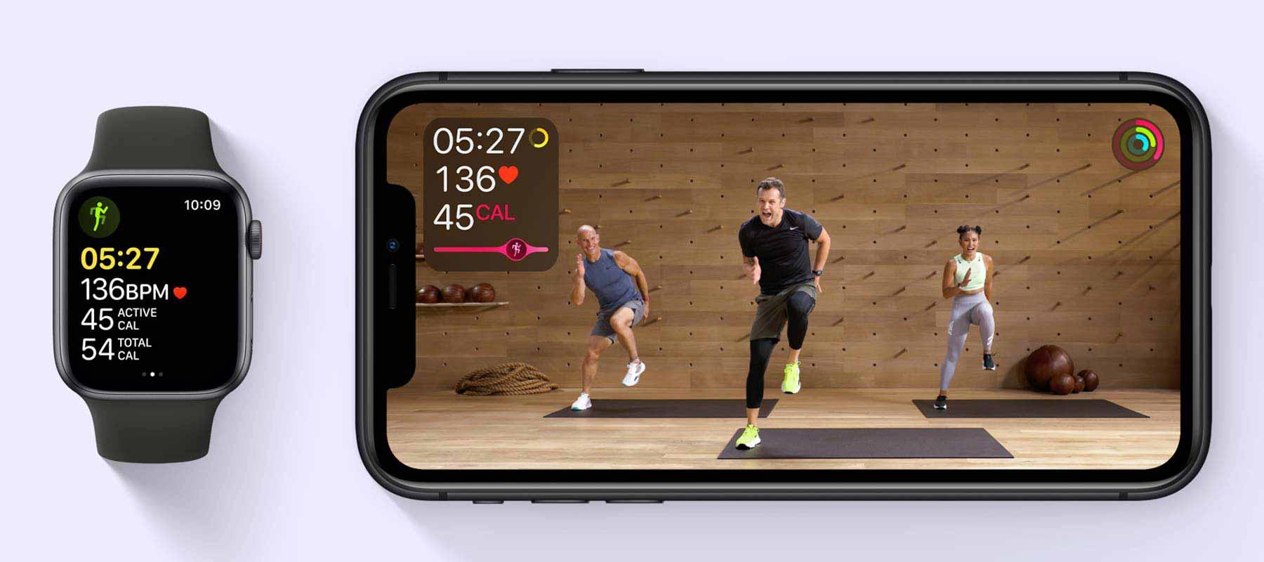 سرویس +Apple Fitness در ساعت هوشمند اپل واچ SE