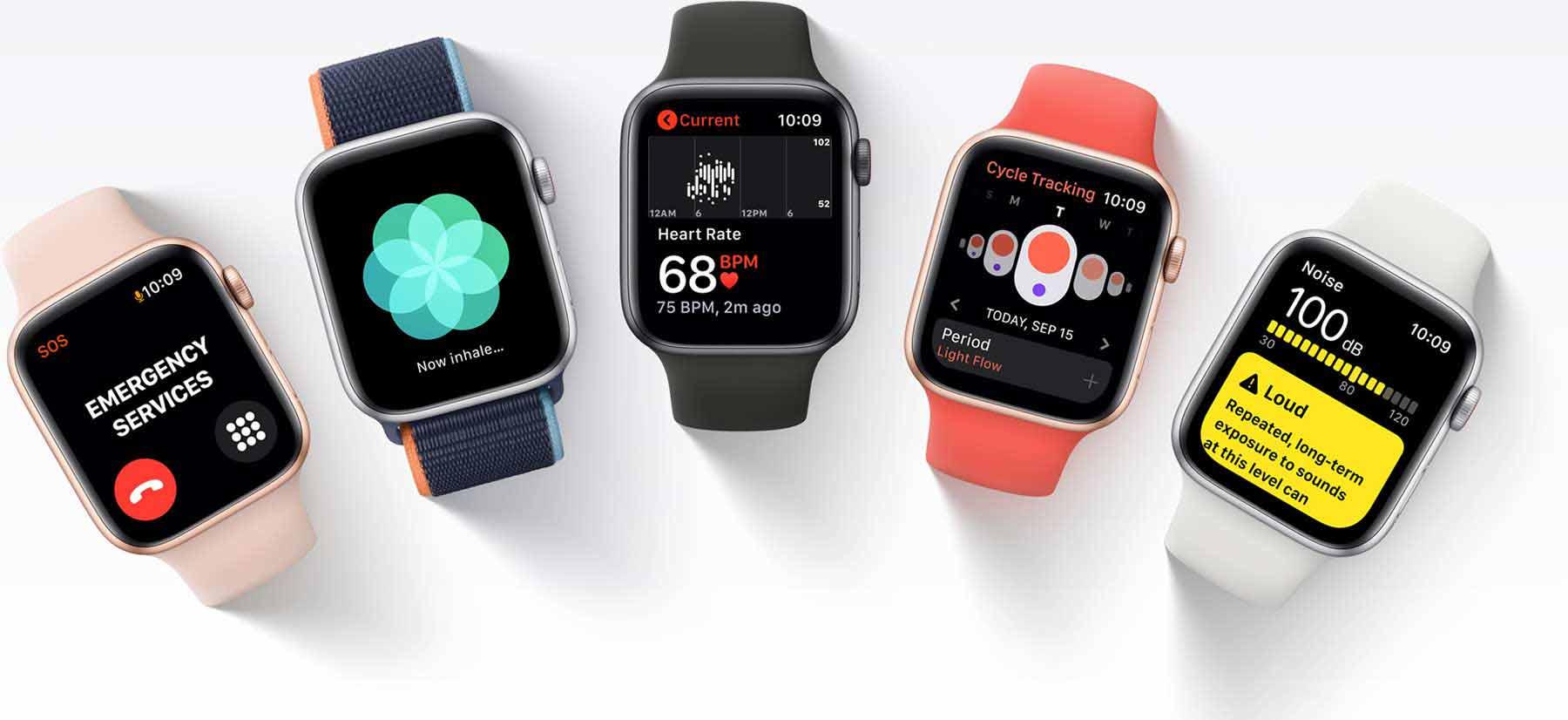 برنامه های ورزشی و سلامت ساعت هوشمند اپل واچ SE
